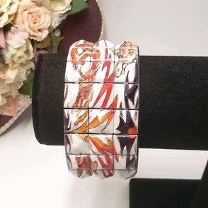 Unique Dragon Lightning Bolt Snap Bracelet